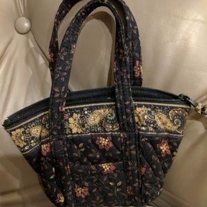 Vera Bradley Black Walnut Mini Bag